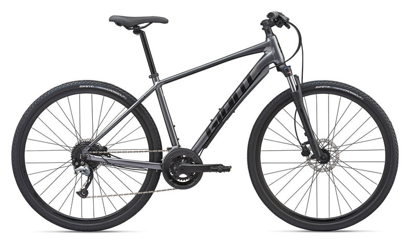 Giant Roam 2 Disc Brake Hybrid Bike 2020 Charcoal / Black