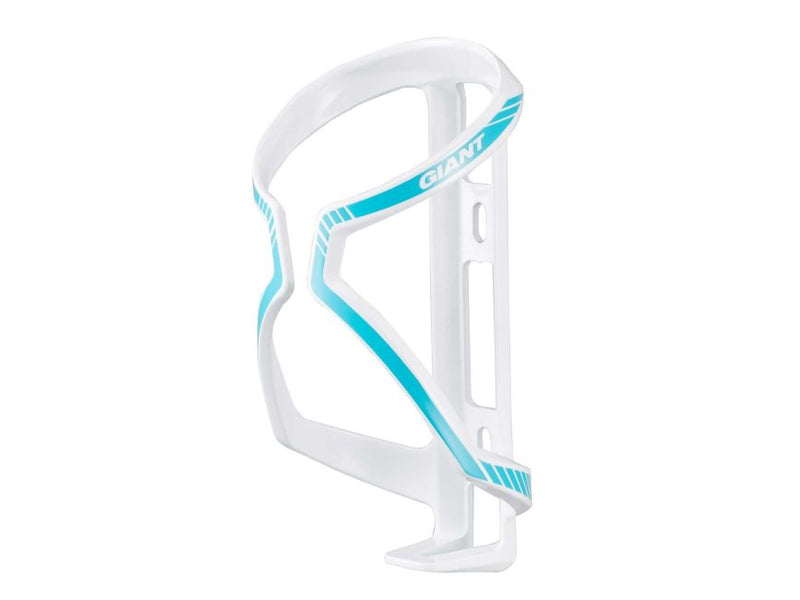 Giant Airway Sport Bidon Bottle Cage White/Gloss Blue