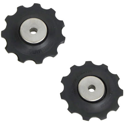 Shimano Tension and Guide Jockey Wheels. 11T. Suit 8-10sp Road and 8-9sp MTB (RD-5700)