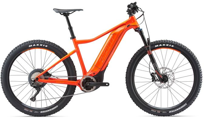 Giant Dirt E+ 1 Pro Electric Bicycle Medium Red/Orange