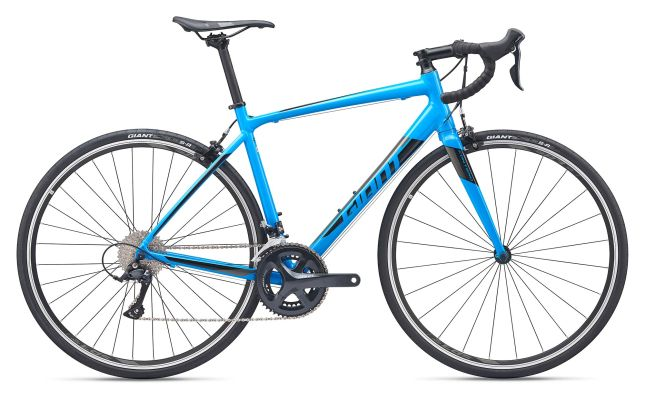 Giant Contend 1 Road Bike Vibrant Blue 2019