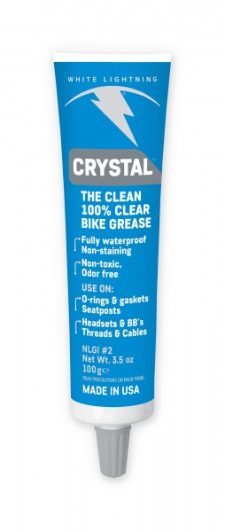 White Lightning Crystal Clear Grease 100g Tube