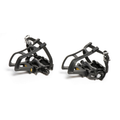 Bikecorp Alloy Pedals with Toe-Clips and Straps