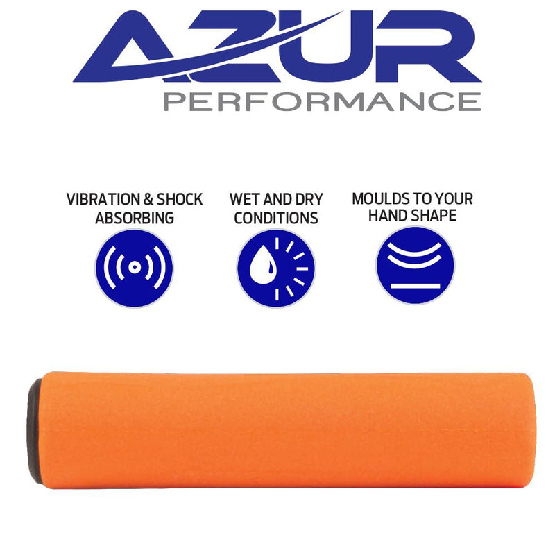 Azur Silicone Grips Orange