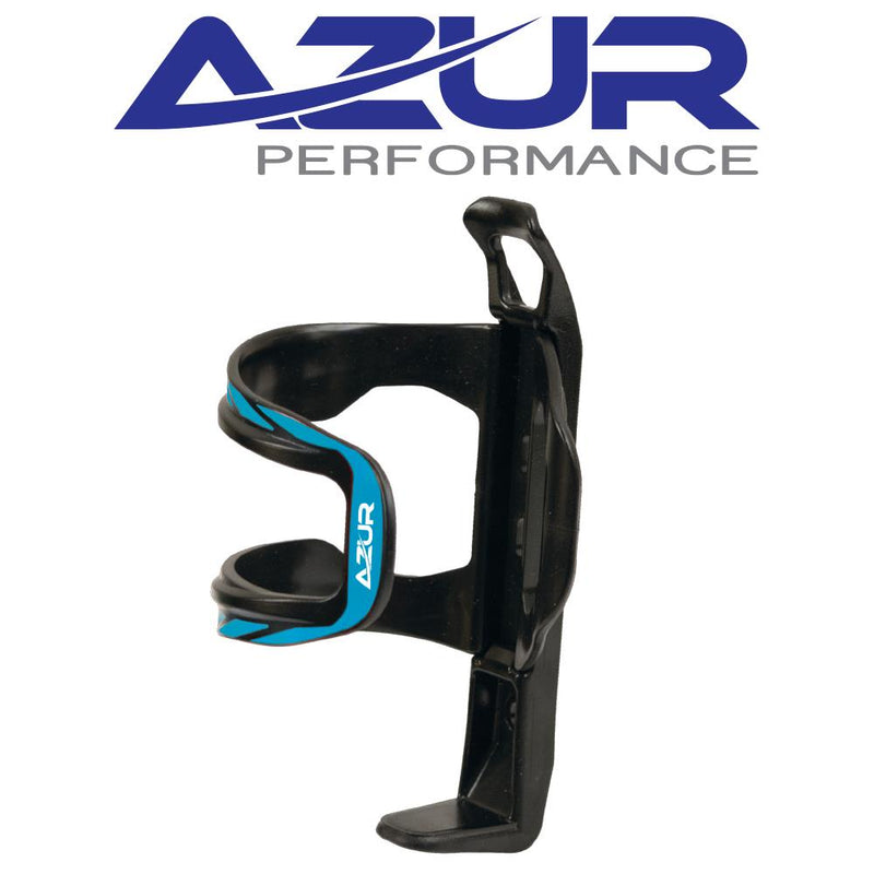 Azur Side Pull Bidon Bottle Cage Blue