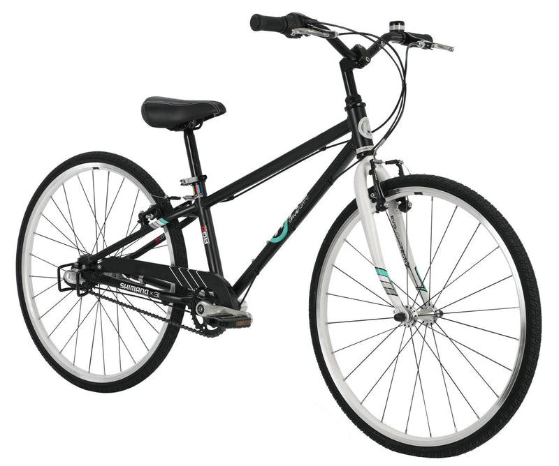 ByK E-540 x 3i Internal Geared Kids Bike Matte Black / White