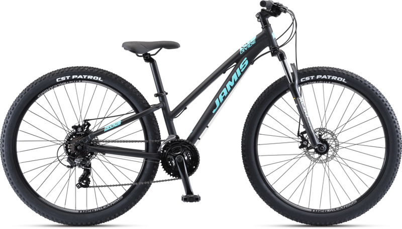 Jamis Divide Step-Over Mountain Bike Ano Black 2021