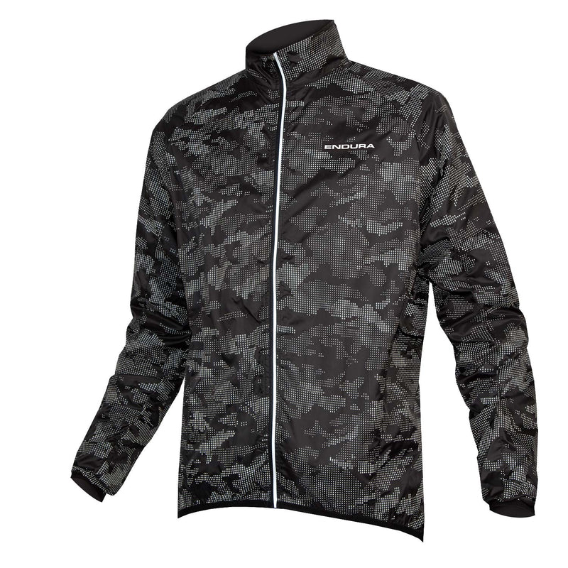 Endura Lumijak II Black-Reflective Camo Cycling Jacket 2019