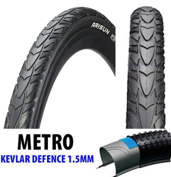 ARISUN Metro Runner 27.5 x 1.75 City Trecking Tyre