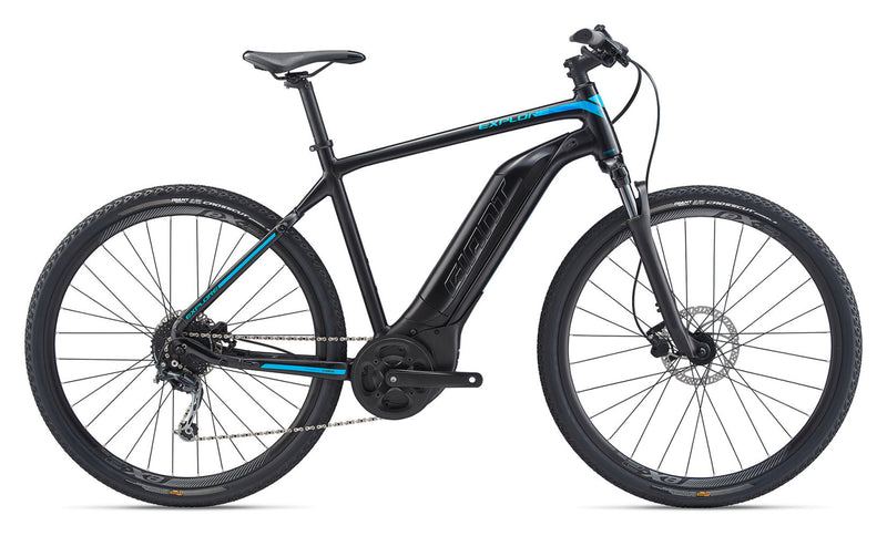 Giant Explore E + 4 GTS Hybrid E-Bike Black 2020