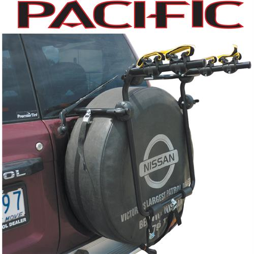Pacific Spare Tyre Car Rack