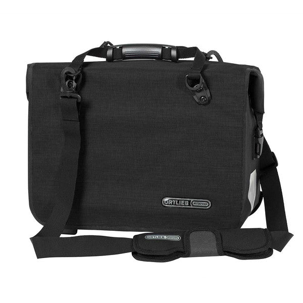 Ortlieb Waterproof Office Bag Bike Pannier Satchel 21L QL3.1 Black F70726