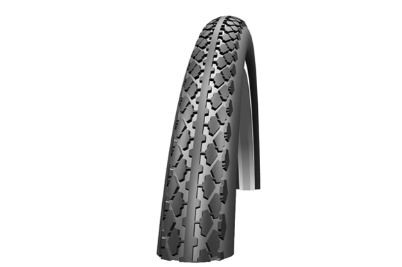 Schwalbe HS159 White Walled Rigid Tyre