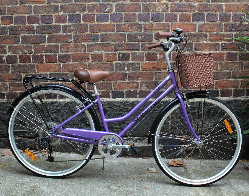 Melbourne Violet Retro Bike