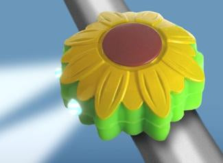 Boogie Bugs Front Mini Light Sunflower (5977)