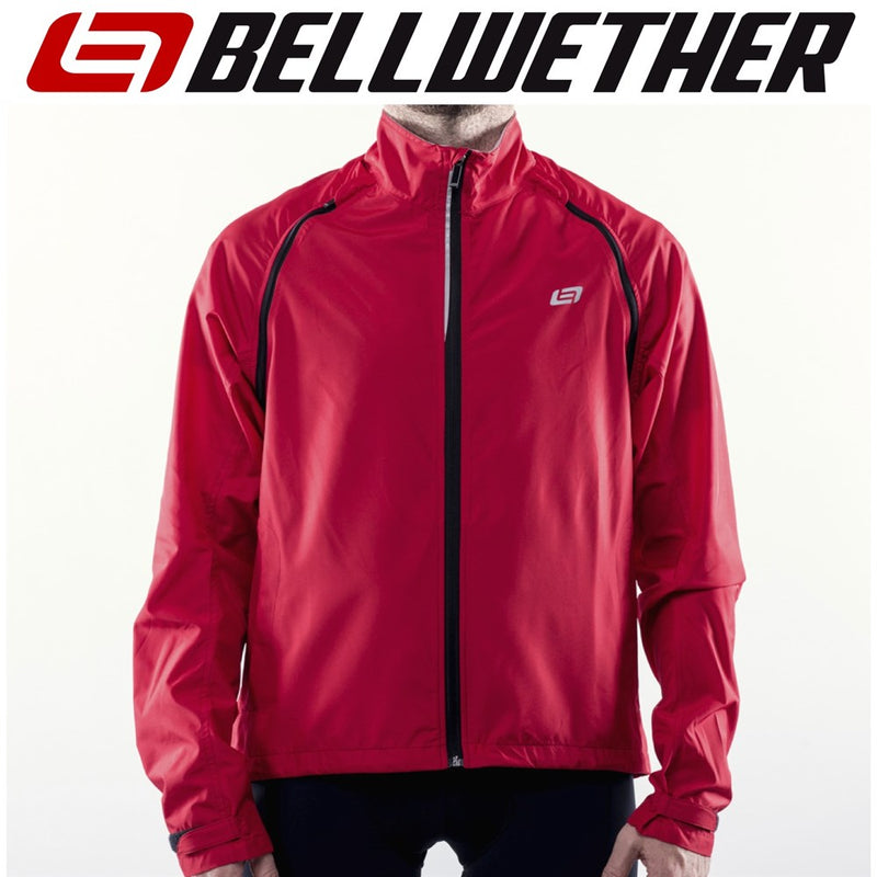 Bellwether Velocity Mens Unisex Convertible Cycling Jacket/Vest Ferrari Red