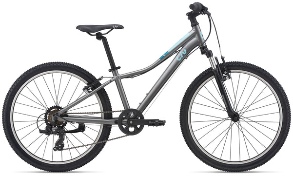 Liv Enchant 24 Kids Mountain Bike Dark Silver 2021