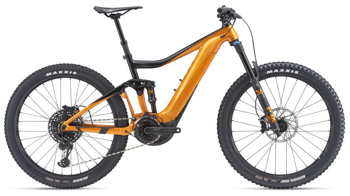 Giant Trance E+ 1 Pro Electric Mountain Bike Black/Orange 2019