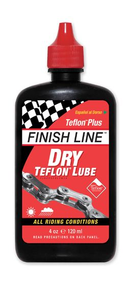 Finish Line Dry Bike Lubricant 4oz Liquid