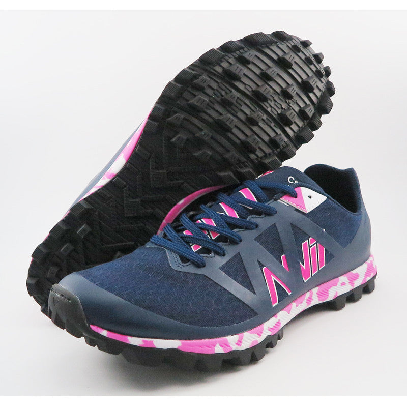 Nvii Crazy Light F2 Trail Running Shoe Navy Blue / Pink