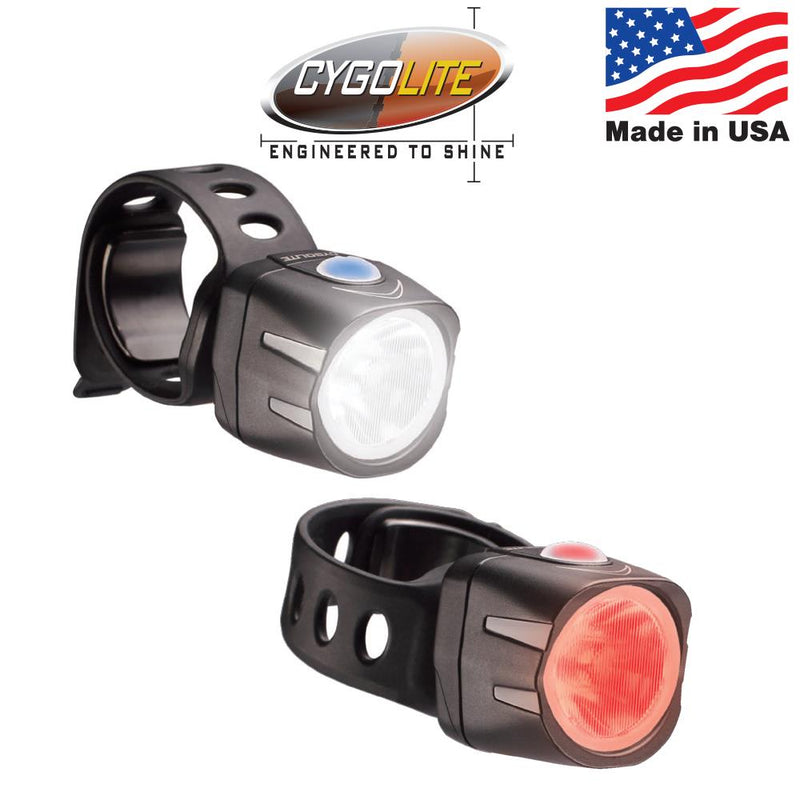 Cygolite Dice HL 150 + Dice TL 50 USB Combo Bike Lights