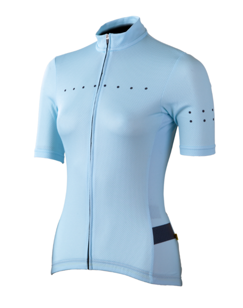 Pedla Full Gas Aero Core Women's Cycling Jersey Pastel Blue