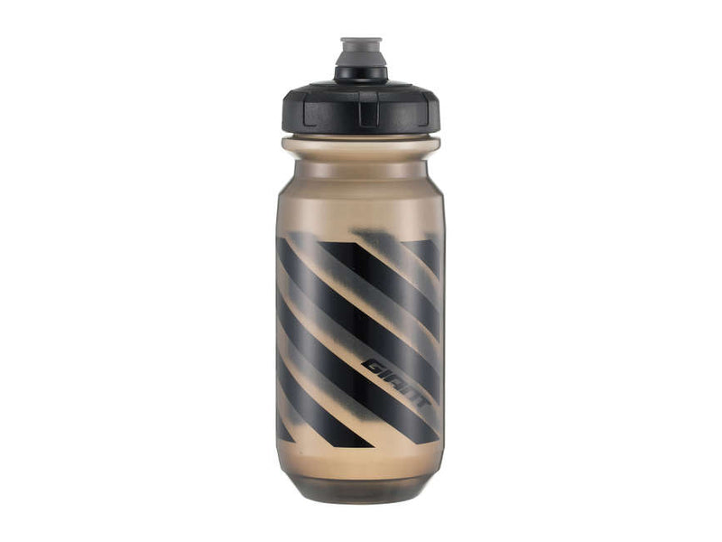 Giant Double Spring Water Bidon Bottle Black Black 600ml