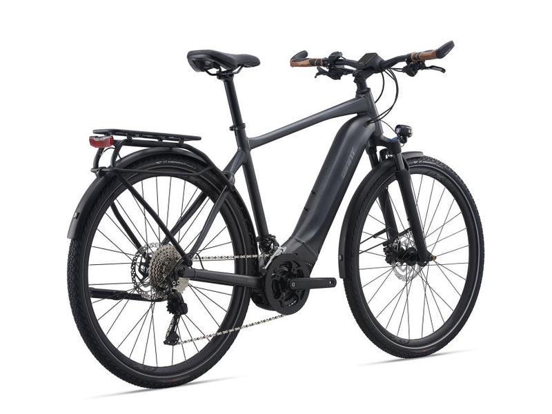 Giant Explore E + 1 GTS Hybrid E-bike Gunmetal Black 2021