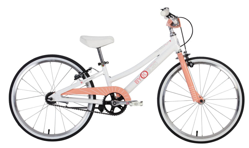 ByK E-450 Kids Bike (Coral Pink)