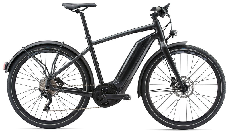 Giant Quick E+ Electric Bicycle Anthracite 2018