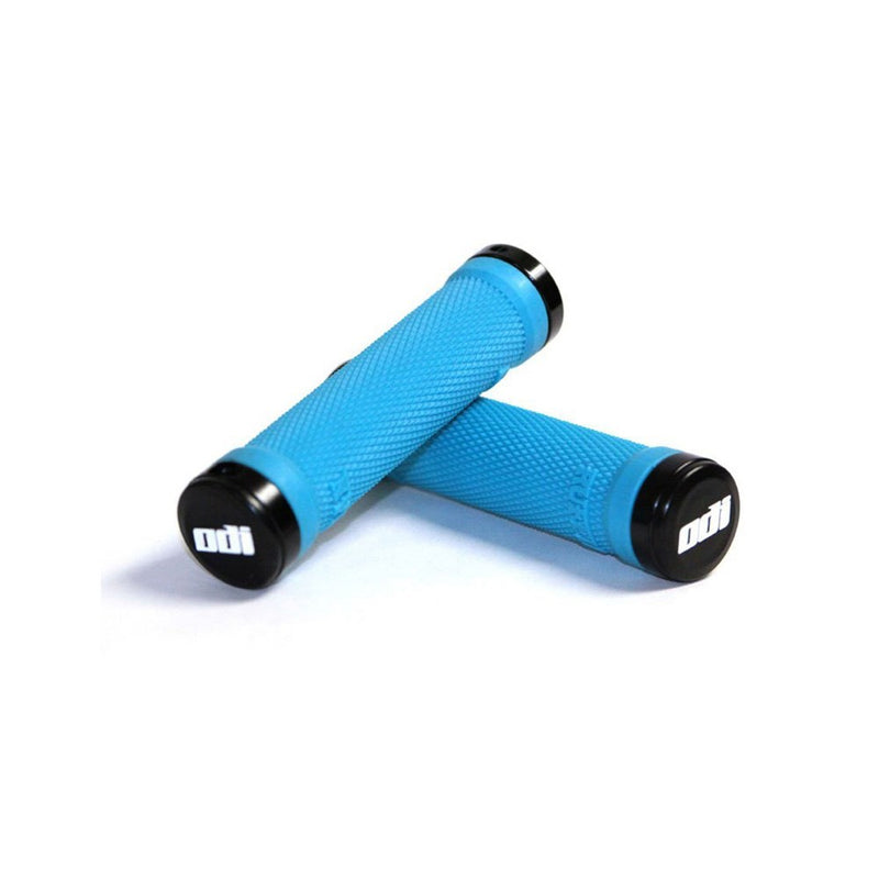 Odi MTB Ruffian Lock-On Grips Aqua