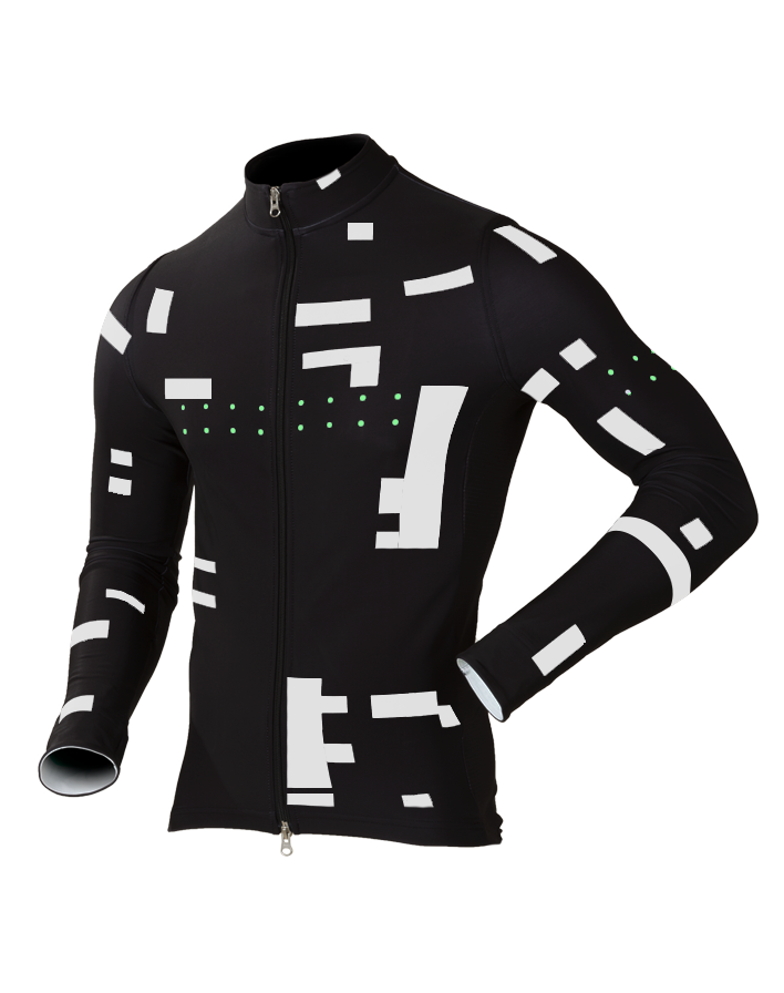 Pedla Chill Block (Locals UTD) Long-Sleeve Fleece Mens Cycling Jacket