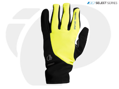 Pearl Izumi PI Select Softshell Winter Glove Screaming Yellow X-Large