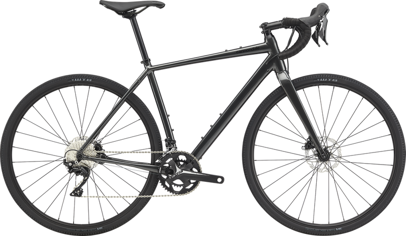 Cannondale Topstone Aluminium 105 Road Bike Graphite 2020