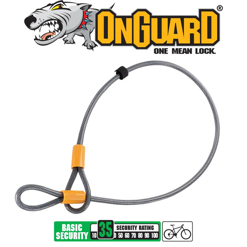 On Guard Akita Lock Cable 120cm x 10mm 8044