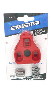 Exustar Cleat Set (Look Keo compatible) (3589) 7 Deg