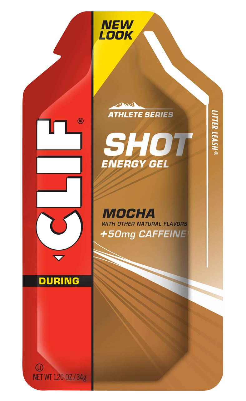 Clif Shot Energy Gel Mocha 50mg Caffeine