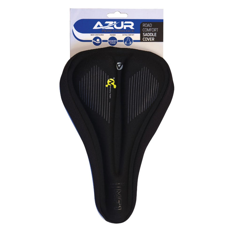 Azur Saddle Cover - Road - Memory Foam