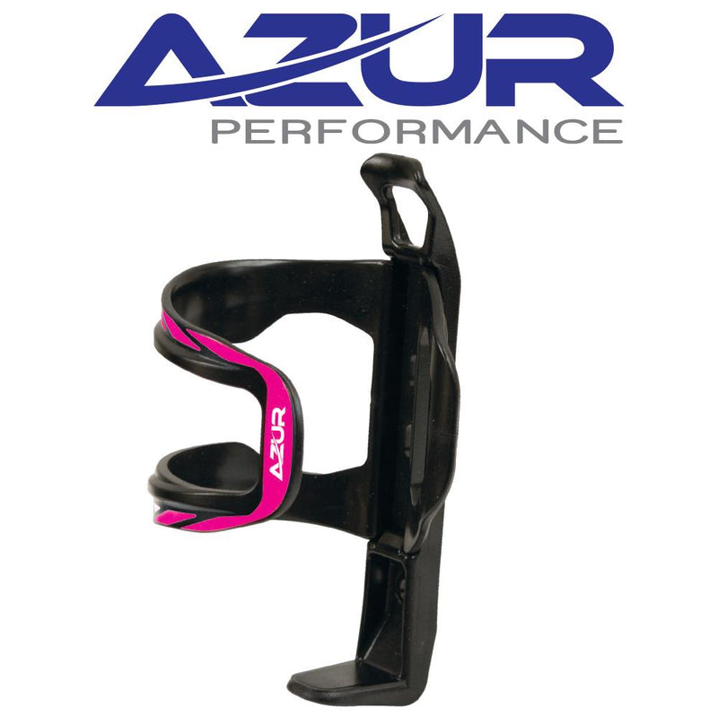 Azur Side Pull Bidon Bottle Cage Pink