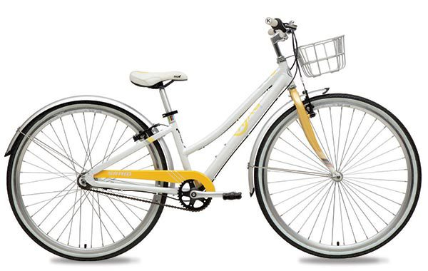 ByK E-620x3i Girls Soft Yellow Internal Geared Kids Bike Retro