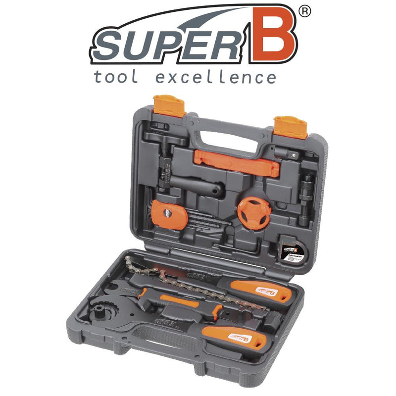 SuperB 21 Piece Bicycle Tool Set Kit TBA300