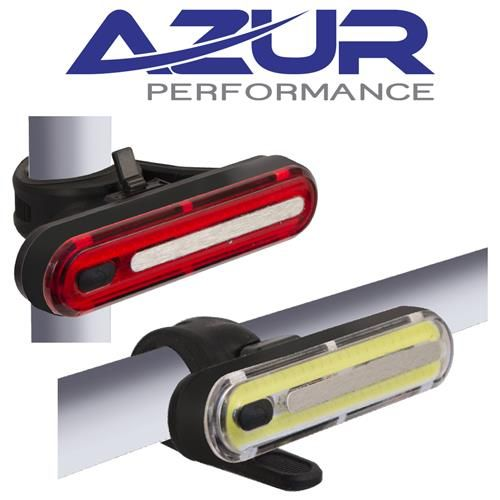 Azur Alien 2 240L / 100L USB Bike Light Set