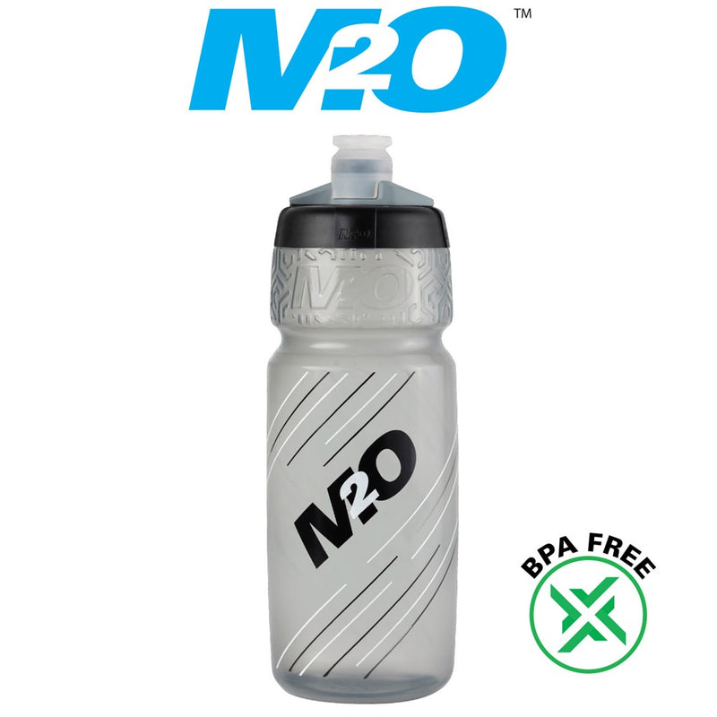 M2O Pilot Water Bottle 710ml Smoke/Black
