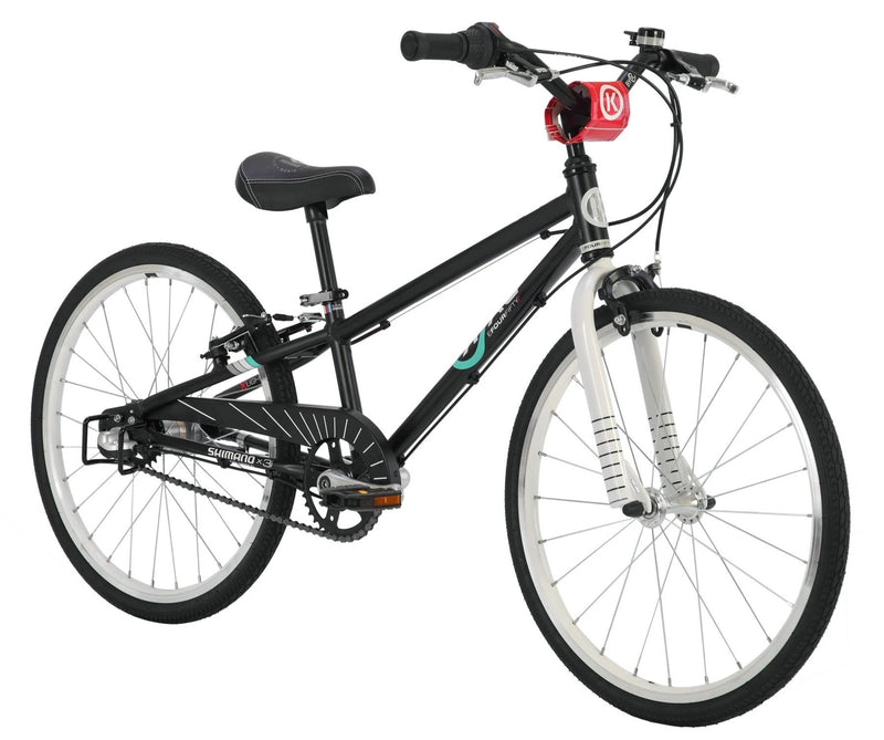 ByK E-450 x 3i Internal Geared Kids Bike Black / White