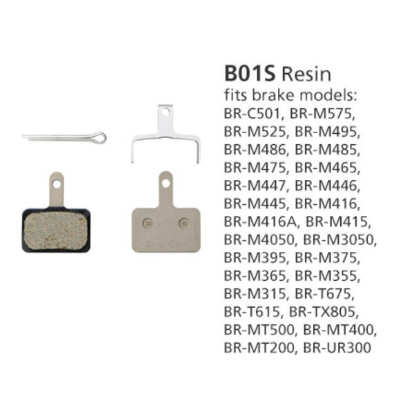 Shimano B01S Disc Brake Pad BR-MT400 Resin