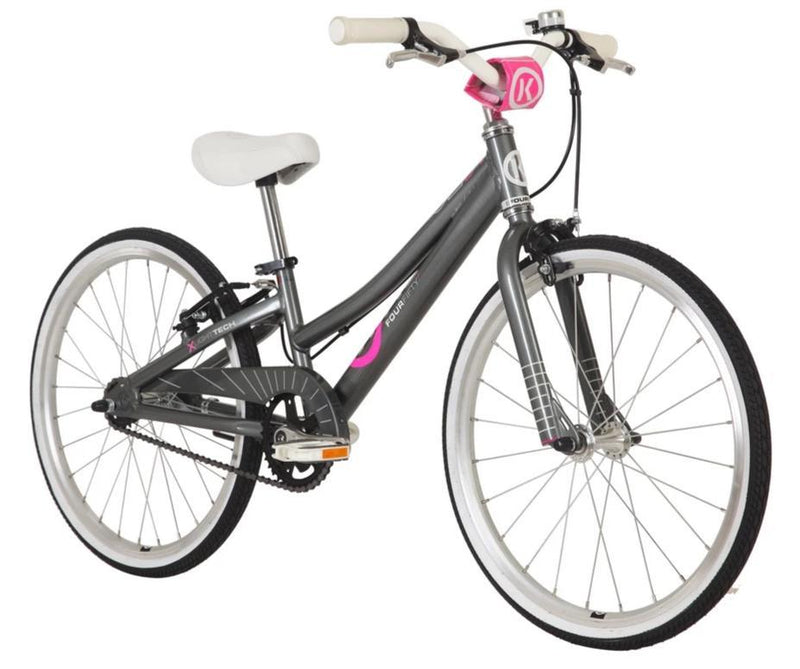 ByK E-450 Kids Bike Charcoal / Pink
