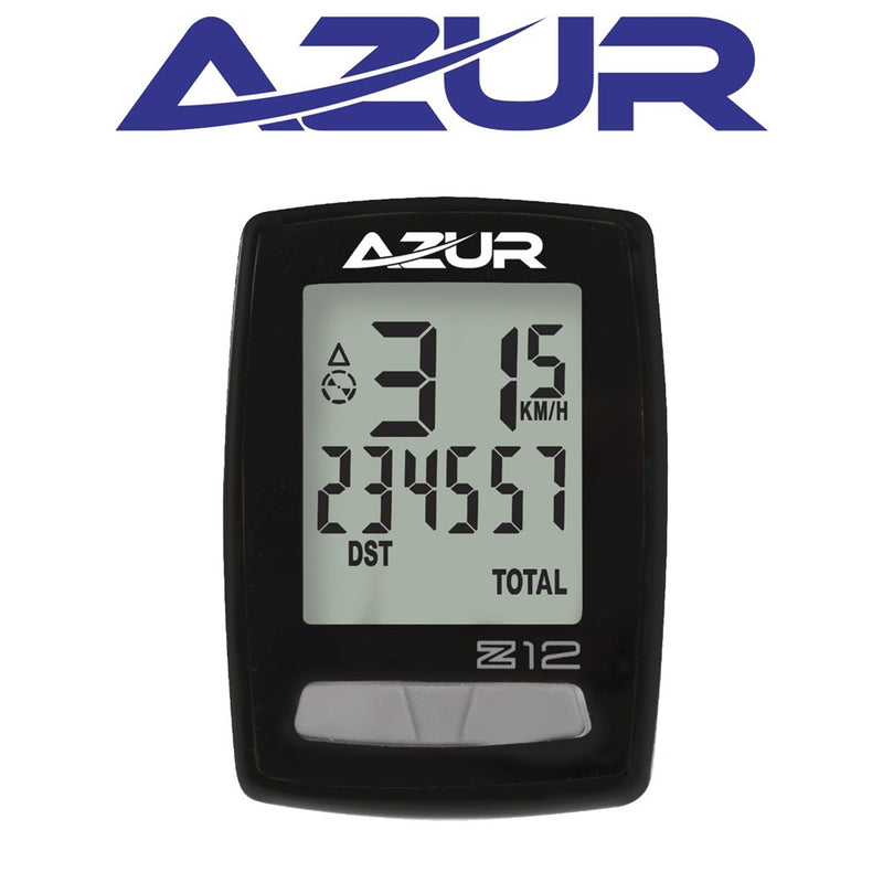 Azur Z12 Cycle Computer Wired