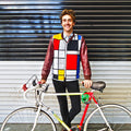 Hey Reflecto Mens Mondrian Lining & Pocket Safety Vest