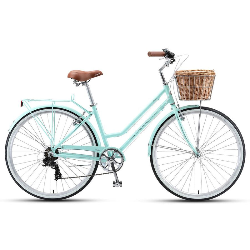 XDS Marilyn Retro Ladies Bike 7 Speed Pale Mint