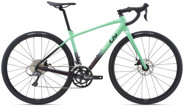 Liv Avail AR 4 Womens Endurance Road Bike Neo Mint 2021
